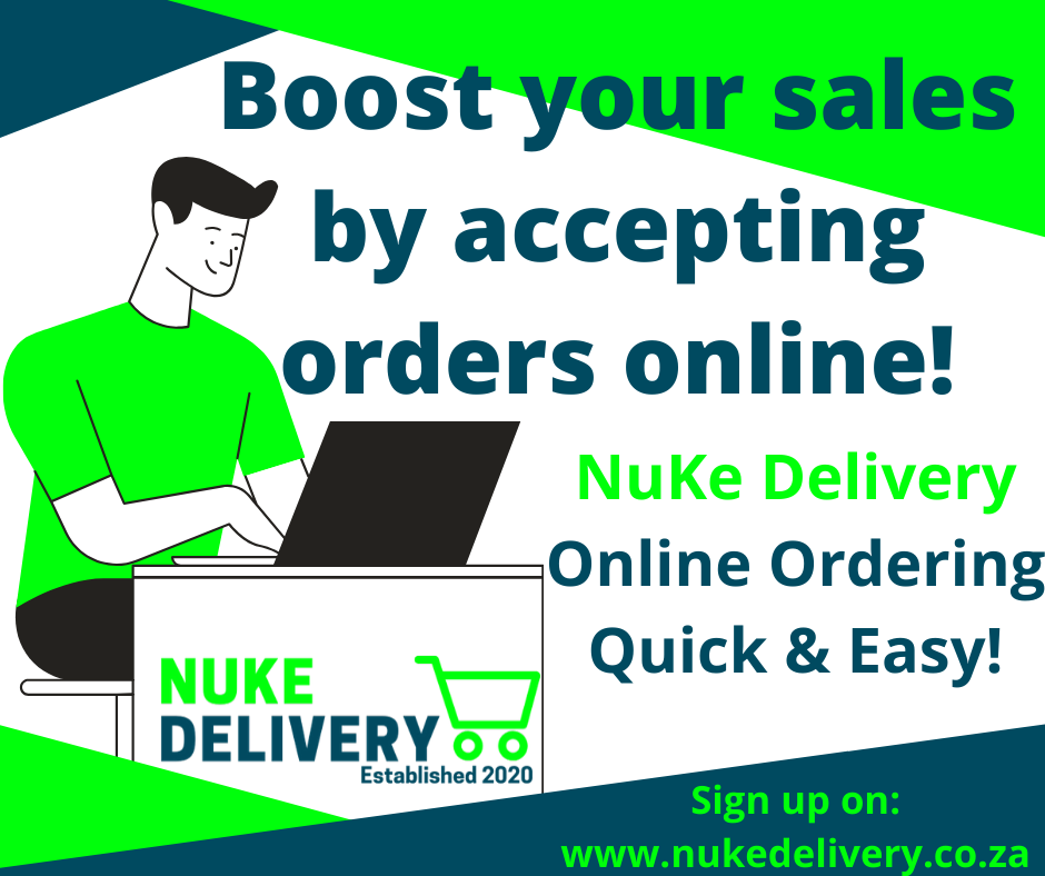 Online Ordering Software, Online Ordering Software, NuKe Delivery
